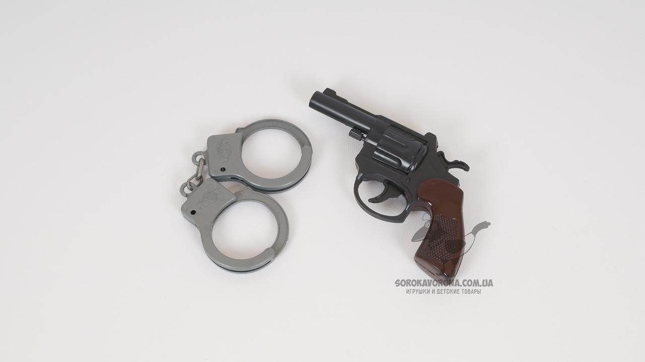 Набор полицейского (пистолет и наручники)