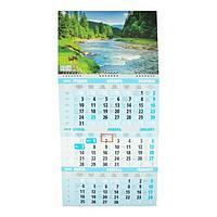 Календарь настенный квартальный на 2019 г. Карпаты