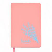Книга записная Leo planner Lavander A6, 80 л., точка, розовый (151287), фото 1