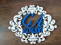 Герб на свадьбу 50*60 см