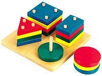 """Развивающая игрушка МДИ """"Логический квадрат"""""""