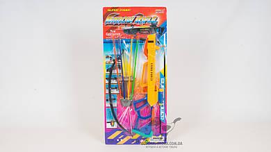 Арбалет - стреляет стрелами на присосках (4 штуки)