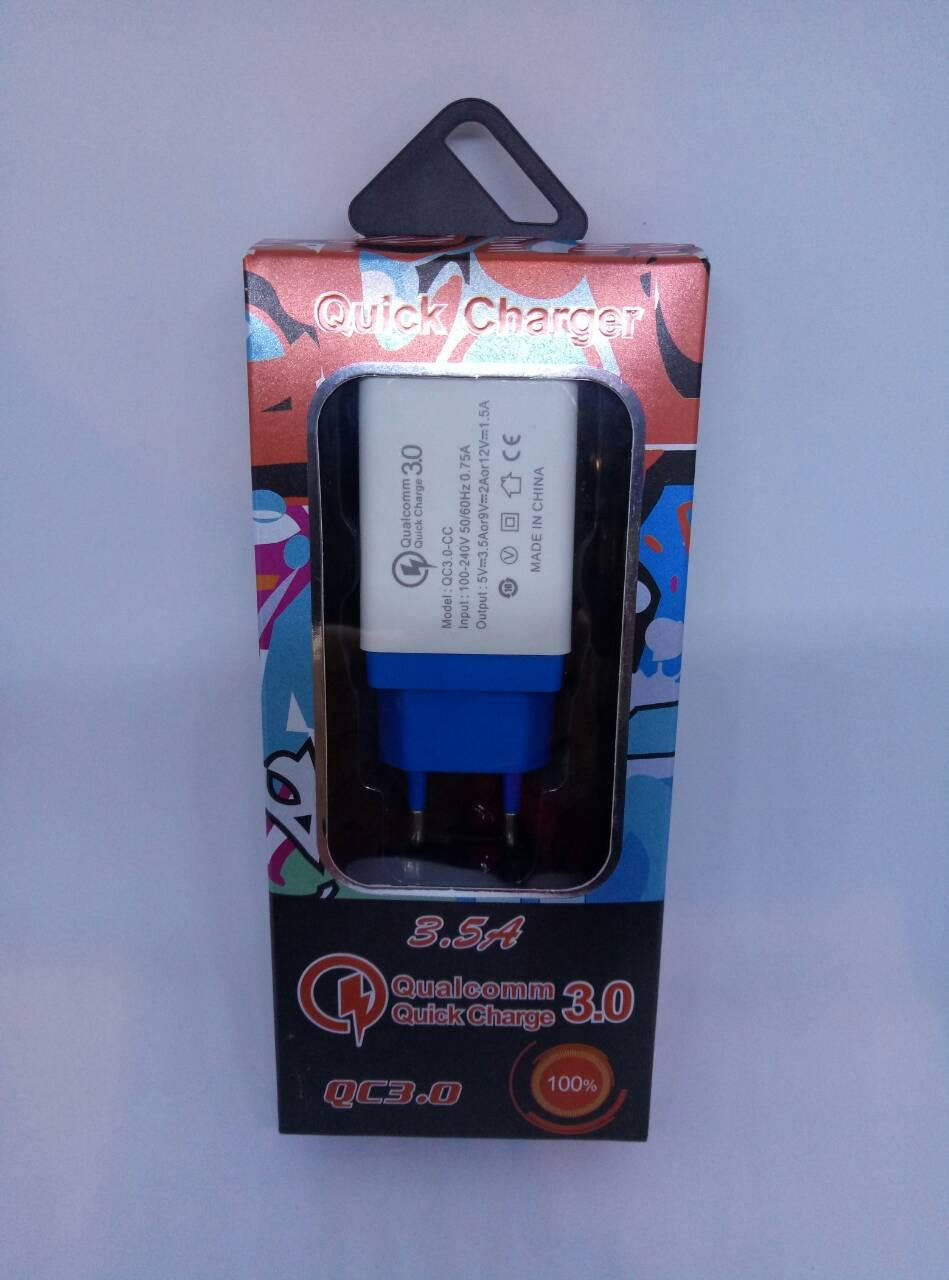 Адаптер USB QC3.0 Fast Charge USB AR 60