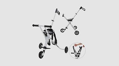 Каталка-самокат Micro Trike. Колеса ПВХ120мм.