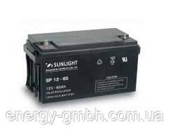 Аккумулятор SUNLIGHT SP12-65, 12В 65 А*ч