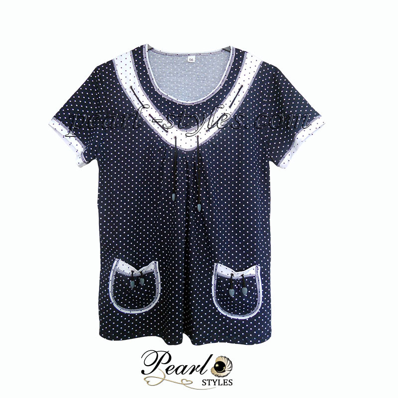 Блуза женская со шнурком