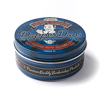 "Крем для бритья ""Барбершоп Классик"" банка 150мл - Dapper Dan Shave Cream Barbershop Classic 150ml"