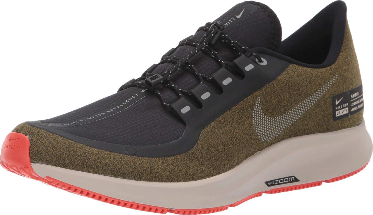11d92b02f637 Кроссовки Кеды (Оригинал) Nike Air Zoom Pegasus 35 Shield Olive Flak  Metallic ...