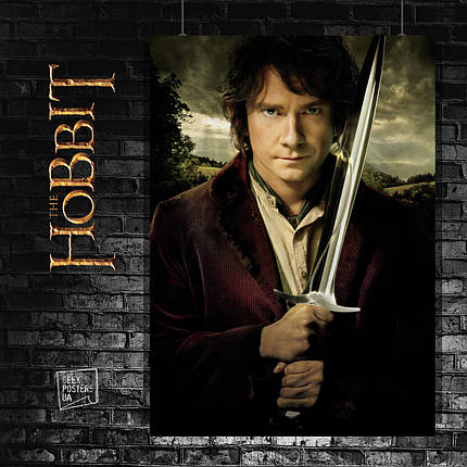 Постер Властелин Колец, Lord Of The Rings, Хоббит, Hobbit, LOTR. Размер 60x43см (A2). Глянцевая бумага, фото 2