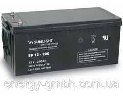 Аккумулятор SUNLIGHT SP12-200, 12В 200 А*ч
