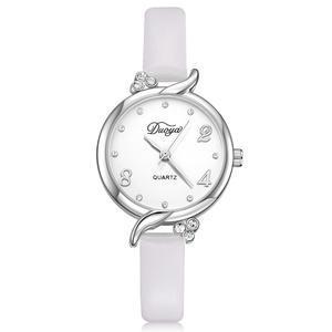 Модные женские наручные часы Bowake с белым ремешком | 20608-1