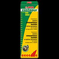Sera costapur, препарат для борьбы с кожными паразитами пресноводных и морских аквариумных рыб, 50мл на 1000 л