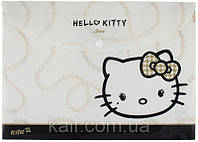 Папка на кнопке А4 KITE 2013 Hello Kitty 200-2 (HK13-200-2K)