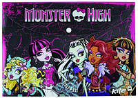 Папка на кнопке А4 KITE 2013 Monster High 200