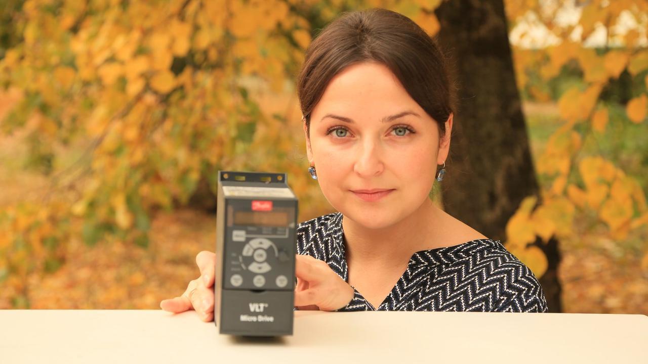 Частотный преобразователь Danfoss VLT Micro Drive FC 51 132f0001 0,18 кВт 220 В