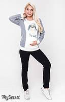 Брюки утепленные для беременных Юла Mama Eshley warm TR-48.163, фото 1