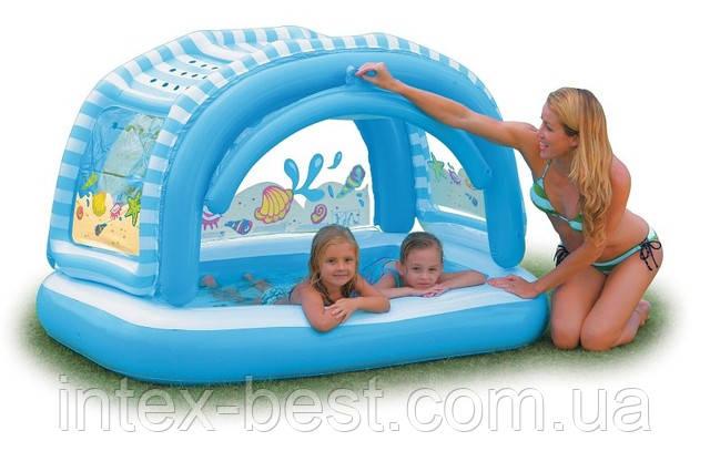 Детский надувной бассейн Intex 57406 (163х112х102 см.)