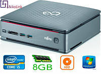 "ПК Fujitsu Esprimo Q520 USFF s1150 (i5-4570TE/8GB/500GB 2.5""/NoDVD)(2xSD DDR3/DVI/D-Port) б/у"
