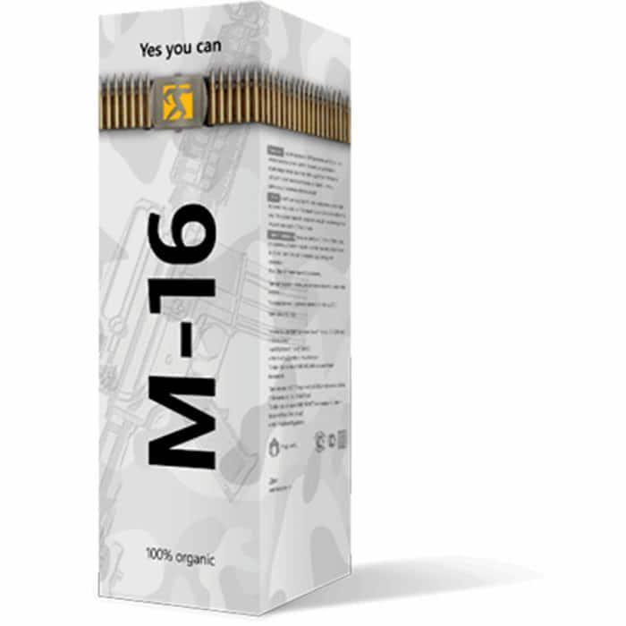 М-16 - Препарат для поднятия либидо и потенции, 30 мл