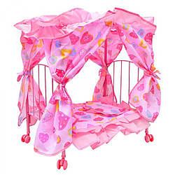 Кроватка для кукол с балдахином  ( 9350 E)