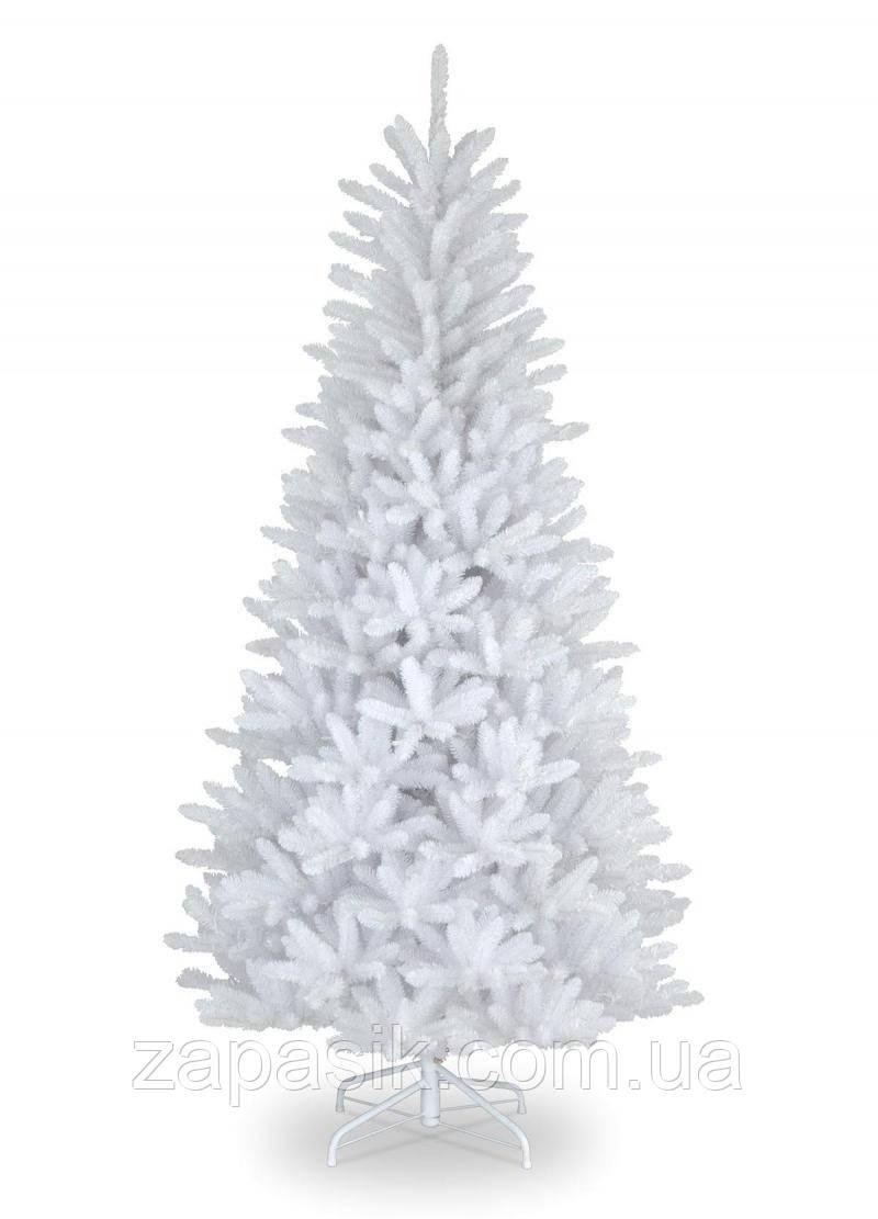 Искусственная Ель Литая Белая 250 см Елка Новогодняя 2,5 метра