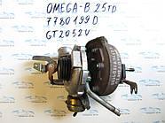 Турбина опель Омега Б 2.5, opel Omega B 2.5TDI 7780199D GT2052V