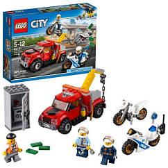 Конструктор Лего сити Побег на буксировщике LEGO City Tow Truck Trouble 144 детали