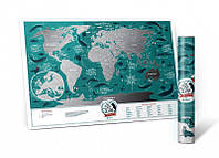 "Скретч карта 630009 ""Travel Map Marine World"""