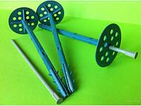 Дюбель зонтик фасадный (грибок) для пенопласта и минеральной ваты от 10*70мм до 10*200(полиамидный)