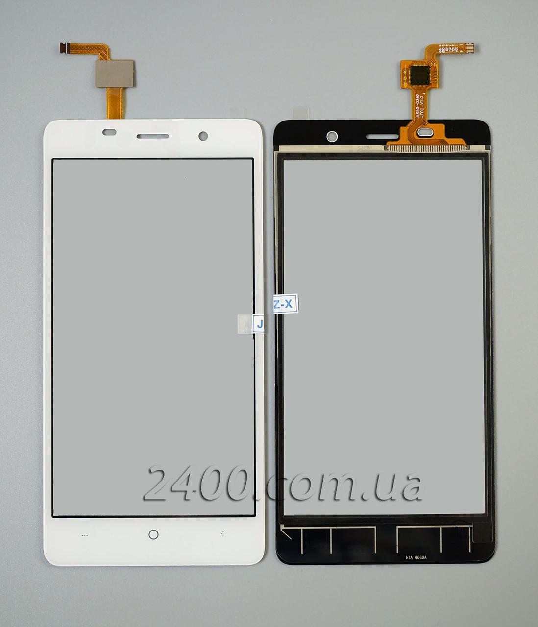 Тачскрин Bravis A504 (сенсор) - touchscreen для телефонов Бравис А504 Трейс (A 504 Trace) белый