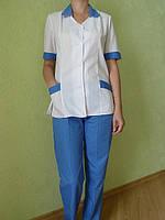 Медицинский костюм Калина. Розница 330 грн. Опт 220 грн. Ткань: батист.