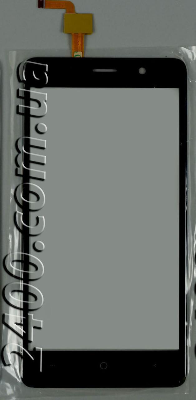 Тачскрин (сенсор) для телефона Bravis X500 Trace Pro черный