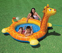 Детский бассейн Intex 57434 «Жираф» (208х165х122 см.)