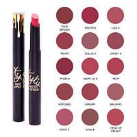 Помада-олівець Kylie Matte Lipstick, фото 1