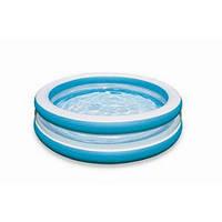 Детский надувной бассейн Intex 57489 Swim Center( 203х51 см.)