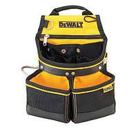 Поясная сумка с двумя карманами под крепеж и скобой для молотка, DeWALT,, шт