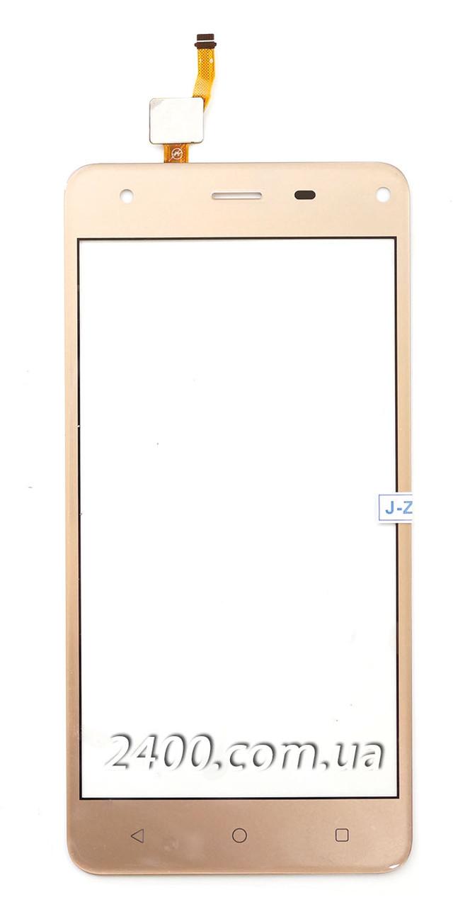 Тачскрин (сенсор) Nomi I5032 телефона золотой (gold)