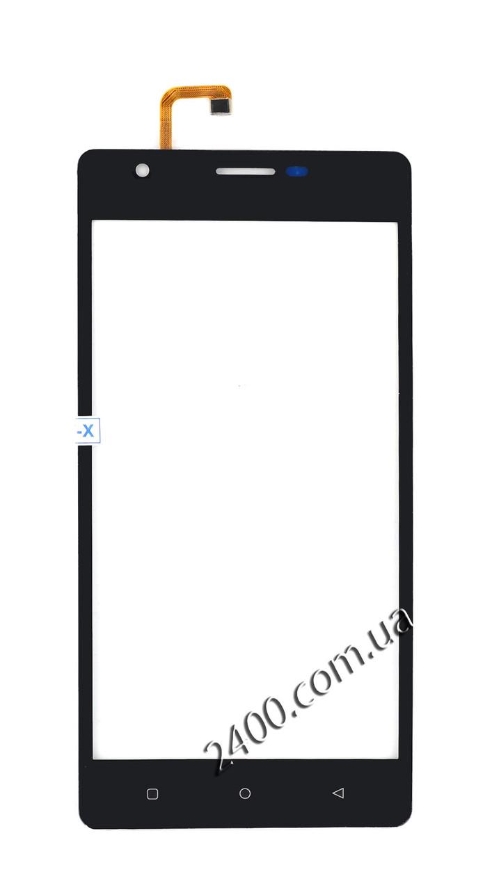 Тачскрин (сенсор) Oukitel C4 телефона черный (black)