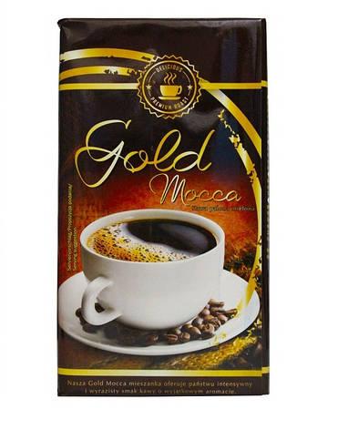 Кофе молотый Delicious Premium roast Gold mocca 500 г , фото 2
