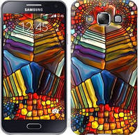 "Чехол на Samsung Galaxy E5 E500H Разноцветный витраж ""3343c-82-328"""