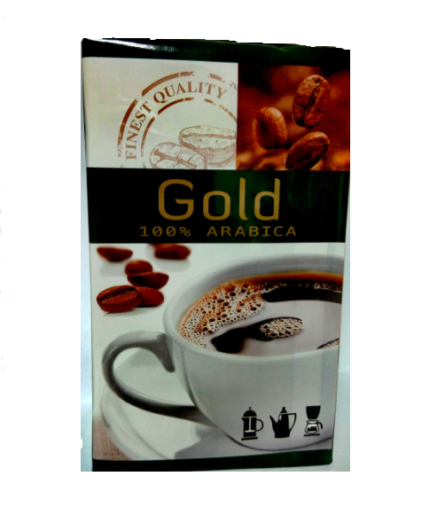 Кофе заварной Gold  100%  arabica 250 g