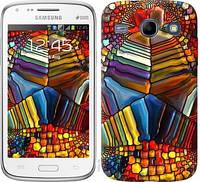 """Чехол на Samsung Galaxy Core i8262 Разноцветный витраж """"3343c-88-328"""""""