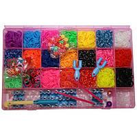 Наборы резинок для плетения браслетов rainbow и аксессуары к ним