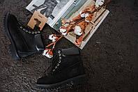Зимние женские ботинки Timberland , Реплика, фото 1