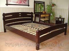 """Белая полуторная кровать из натурального дерева """"Токио"""" от производителя, фото 3"""