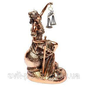 Статуэтка правосудие из полистоуна - фото