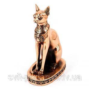 Статуэтка египетской кошки - фото