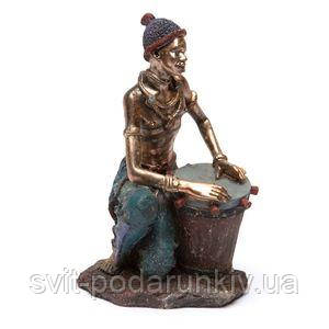 Статуэтка негра барабанщика - фото