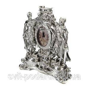 Настольные часы в виде статуэтки Фемиды - фото
