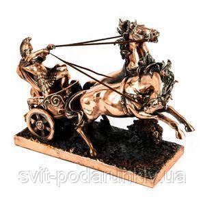 Статуэтка подарочная Колесница - фото